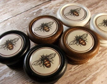 Bee Drawer Pulls Etsy