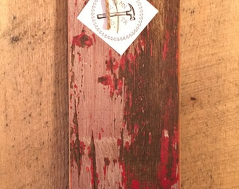 Reclaimed wood bottle opener