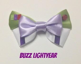 Buzz Lightyear Toy Story Disney Hair Bow