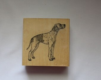 Pointer Rubber Stamp, Stamp Gallery Rubber Stamp, Never Used