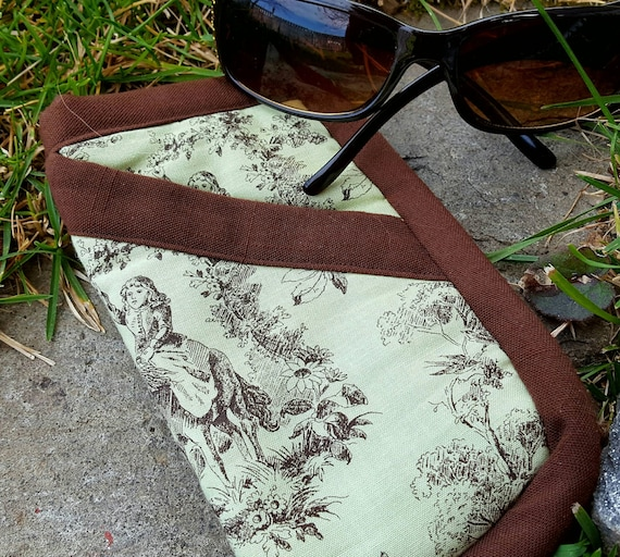 Quilted Eyeglass Case, Toille Sunglass Case