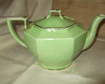 Royal Winton  Ajax Green Tea pot