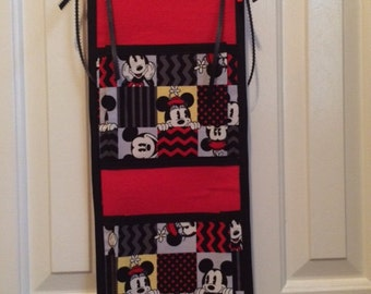 Mickey and Minnie Fish Extender--2 pocket, ready to ship!