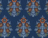 Joel Dewberry Botanique 'Provincial' in Deepwater Cotton Fabric