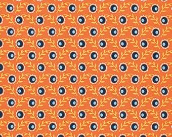 Joel Dewberry Botanique 'Camelia' in Apricot Cotton Fabric