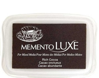Memento Luxe Rich Cocoa Ink Pad