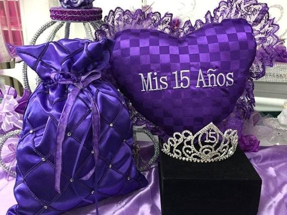 Mis 15 Anos Bracelet: Mis Quince Anos Pillow Tiara Money Bag Sweet 15 You Choose