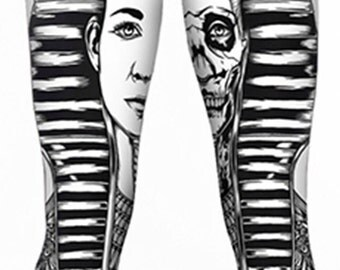 Egyptian Pharaoh Leggings Great for Yoga Hula Hoop or Dance