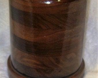 Large 30 ounce Walnut Tankard Mug