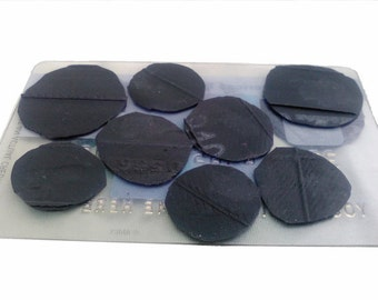 Bicycle Inner Tube Patches Made from Worn-Out Bicycle Inner Tube Flat Tire Repair DIY Patch Kit Promotional Faux Credit Card