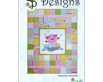 """Pattern """"Bubbles"""" Quilt Pattern by QP Designs (QPD1303) Paper Pattern"""