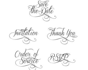 Captivating Save The Date Wedding Wording, Wedding Script, Clip Art For Sale. Make You
