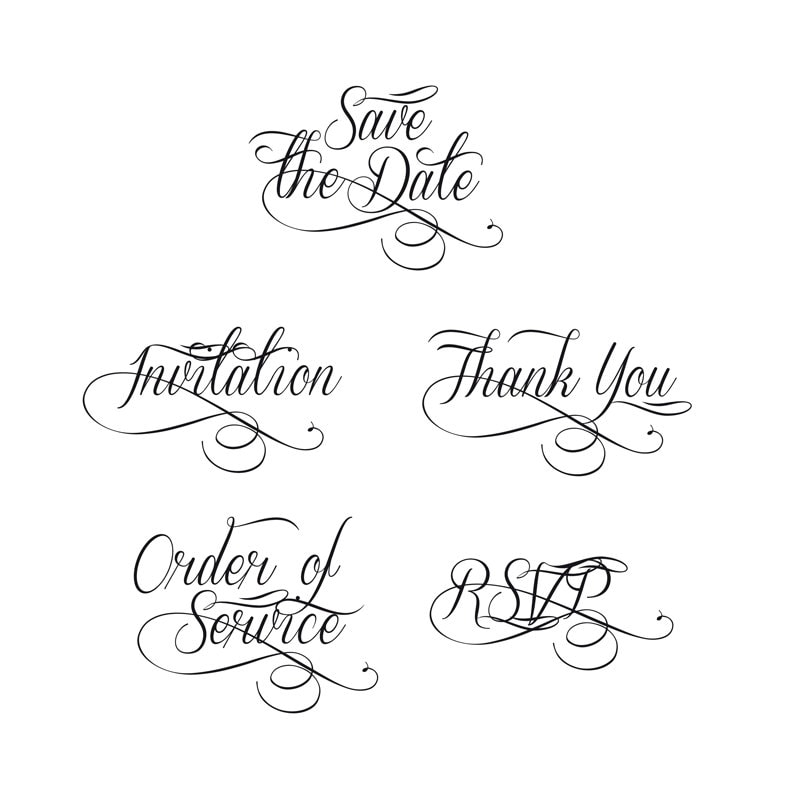 My Wedding Invite Clip Art At Clker Com: Save The Date Wedding Wording Wedding Script Clip Art For