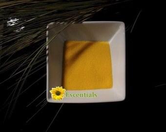 1 Ounce Sunshine Yellow Jojoba Beads
