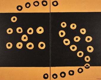 Study in Gold and Black #3