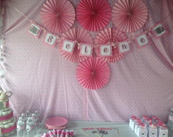 Baby Shower Elephant Banner