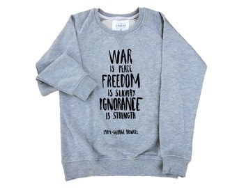 George Orwell 1984 Premium Sweatshirt