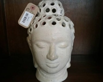 Tealight Terracotta Buddha
