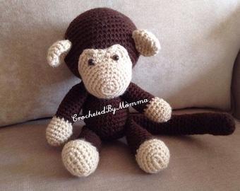 "Crochet ""Johnny"" the Monkey"