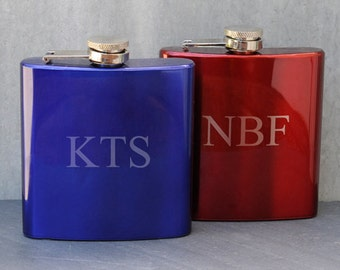 Set of Five Glass Flask (GC1025)