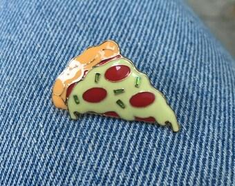 Pizza Enamle Pin