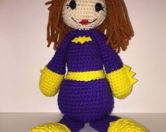 Crocheted Barbara Gordon