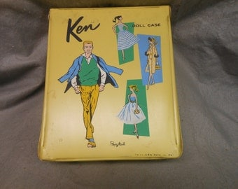 KEN Doll case by Ponytail 1961