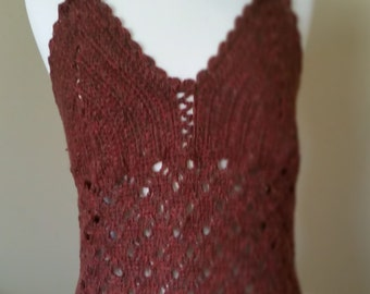 Silk Crochet Top
