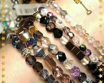 Gypsy look bracelet set