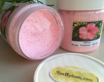 SALE MAUI-Hawaiian  Breeze- SPA dead Sea & Alaea Volcanic Salt Scrub-Island Inpired  scent 4fl