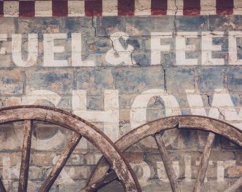 Wagon Wheel Wall Decor wagon wheel wall art | etsy