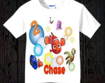 Finding Nemo Birthday Shirt