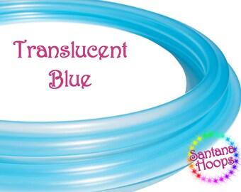 "3/4"" Translucent Blue Polypro Hula Hoop"
