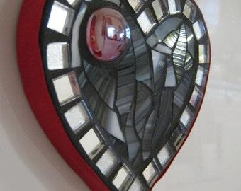 Mosaic Heart Fridge Magnet