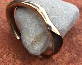 anticlastic bronze bracelet