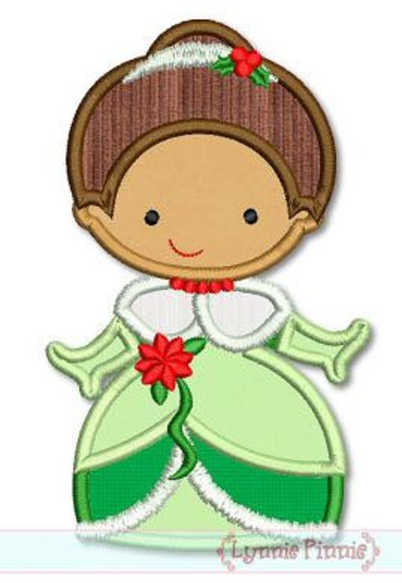 Tiana Christmas Cutie Embroidered Shirt - The Princess and the Frog - Disney Princess - Disney Christmas Vacation -