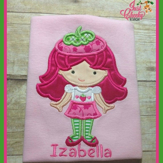 Fruit Cutie as Strawberry Shortcake Embroidered Shirt