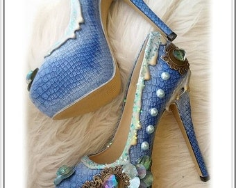 Mystheryum Shoes Mermaid Princess
