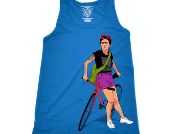 Women's Frida Top, Rib Racerback Tank Top, Bella+Canvas, Sizes S-2XL Available