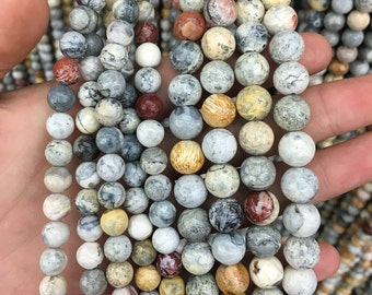 sky eye jasper beads, natural gemstone beads round loose stone beads for jewelry making 8mm 10mm 15'' strand