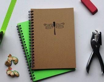 Dragonfly - 5 x 7 journal