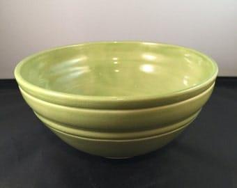 Wasabi Green Bowl