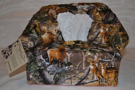 real tree camo kleenex couch cover