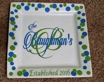 Ceramic Plates - personalized
