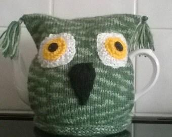 Green Owl Tea Cosy