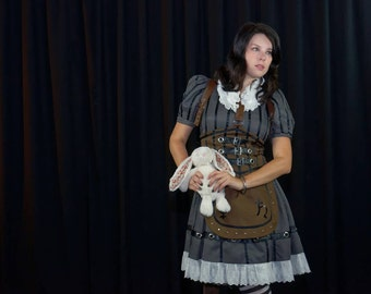 Alice Madness Returns Steampunk Dress Cosplay Costume
