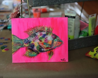 The Rainbow Fish (8x10)