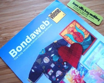 Iron-on Transfer Adhesive - Vilene - Bondaweb - 1.2m x 17.5cm pack Adhesive webbing for appliqué