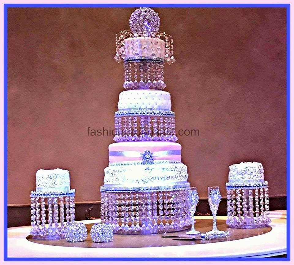 Wedding Crystal Acrylic Cake Stand Tower 3 By Fashionproposals