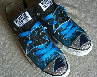 Panthers custom converse